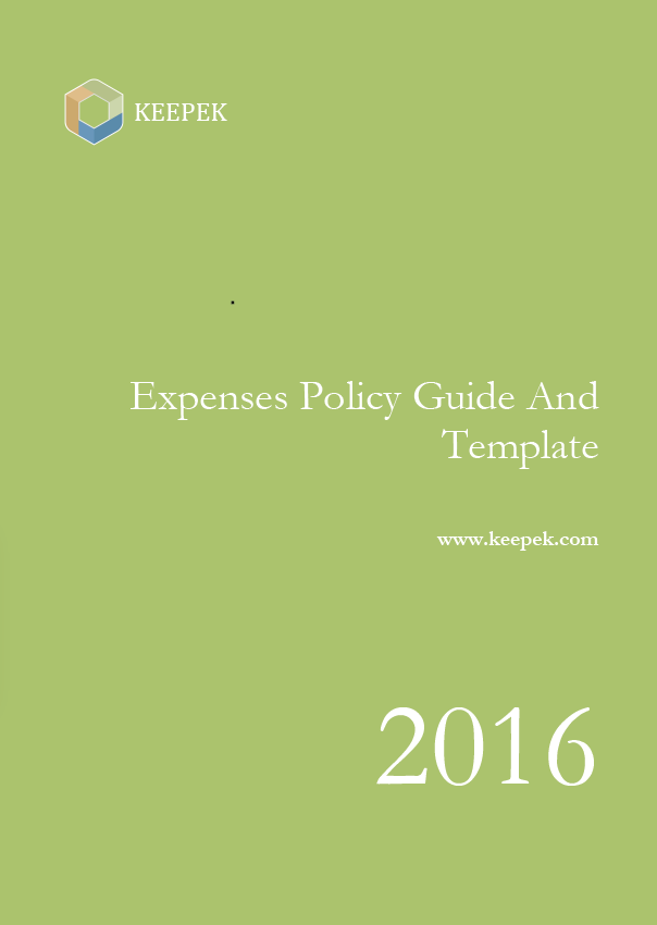expenses policy template and guide
