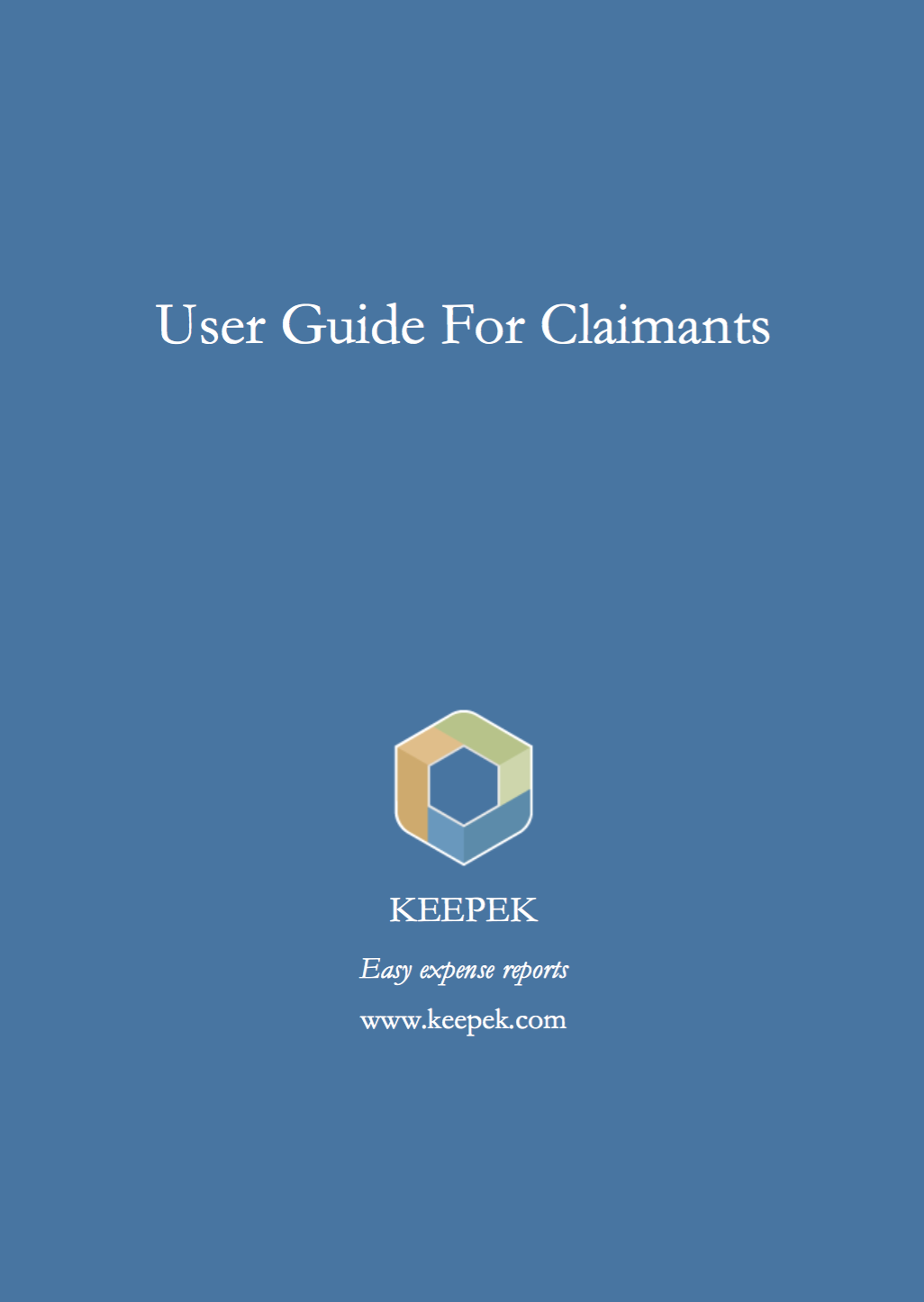 expense claims guide